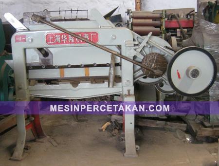 Mesin Potong Kertas DQ 201 - Emboss plate