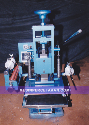 mesin hotprint emboss pond manual