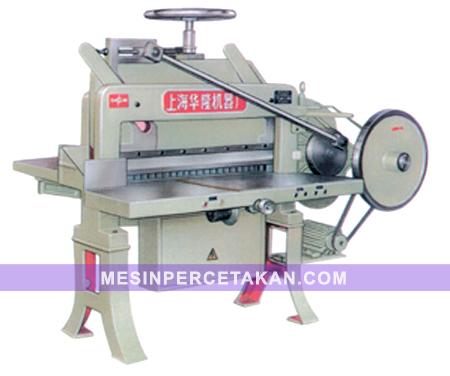 Mesin Potong Kertas DQ 201