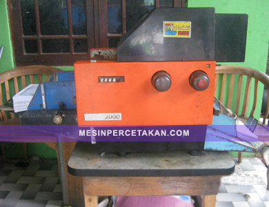 Mesin Cetak Mini Offset MB 2000