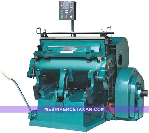 Mesin Pond Kertas | Die Cutting-Creasing Machine