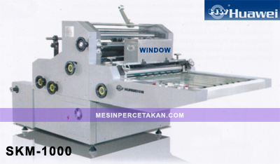 SKM-1000 | Mesin Laminating Window / Kaca
