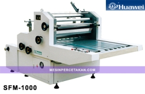 SFM-1000 Water Soluble Laminating Machine
