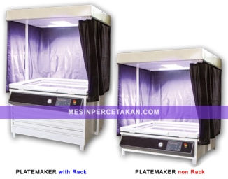 Mesin plate maker digital expose