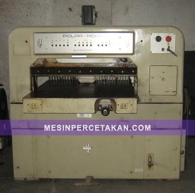 Polar 92 mesin potong kertas bekas