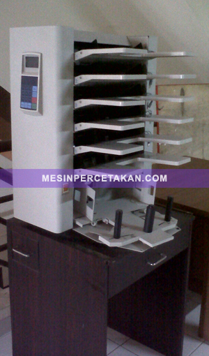 Mesin Collator | Collator Machine 6 trays
