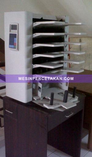 Collator | Mesin Sortir 6 trays