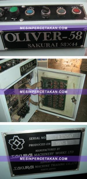 Sakurai Oliver 58-Panel